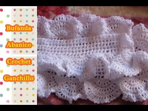 como tejer bufanda a crochet ganchillo paso a paso parte On aprender a tejer crochet paso a paso