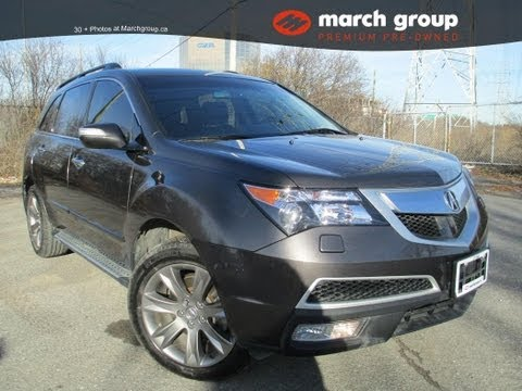 March Group Premium Pre-Owned 2010 Acura MDX Elite Package Stock# C7259 Ottawa Ontario Canada