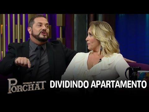 Conrado dividiu apartamento com Leandro e Leonardo no início da carreira
