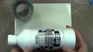 How to prepare unfinished wood for painting with acrylic paint
