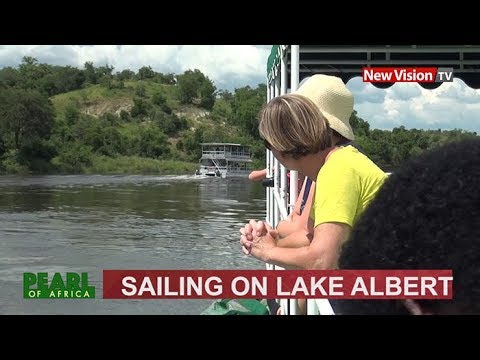 Sailing on Lake Albert