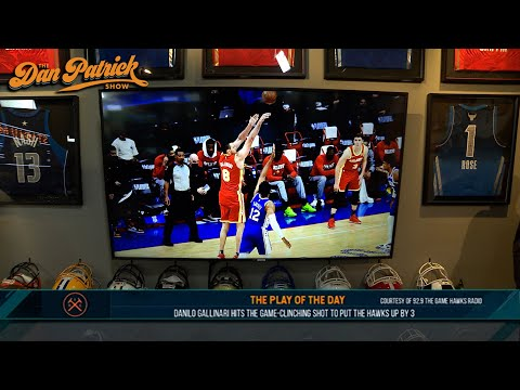 Play of the Day: Danilo Gallinari Hits Game-Clinching Shot To Put The Hawks Up By 3 | 06/17/21
