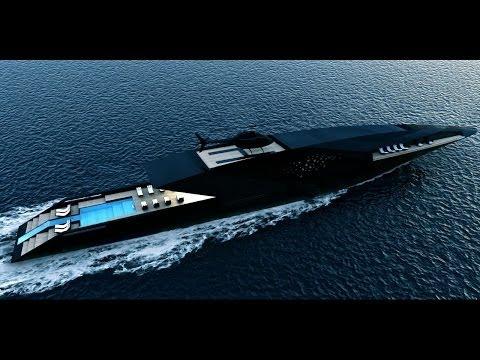Así es el Cisne Negro, el yate más lujoso del mundo