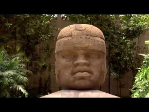 Olmec Colossal Heads (clip from Island Kings Of The Stone Age)