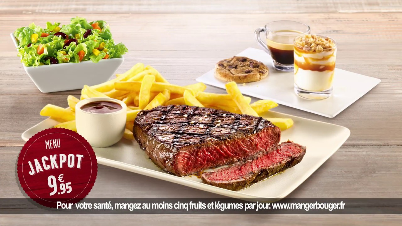 Buffalo grill menu jackpot pub tv 20 secondes youtube - Menu buffalo grill tarif ...