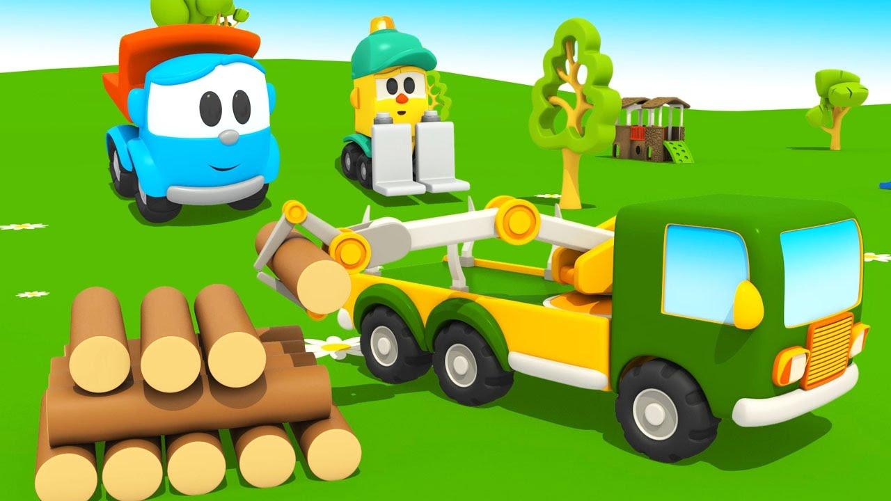 Cartoni animati per bambini leo il camioncino curioso