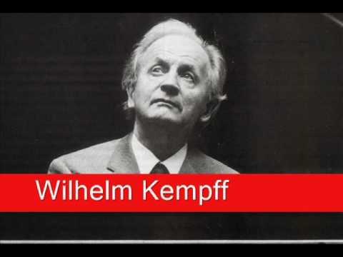 Wilhelm Kempff: Schumann - Arabeske in C major, Op  18