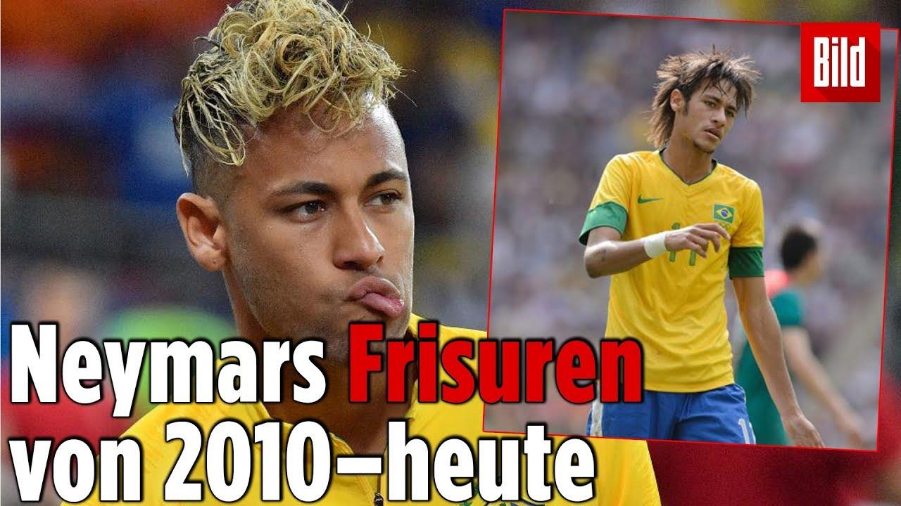Jedes Jahr Was Neues Neymars Frisuren Historie Youtube