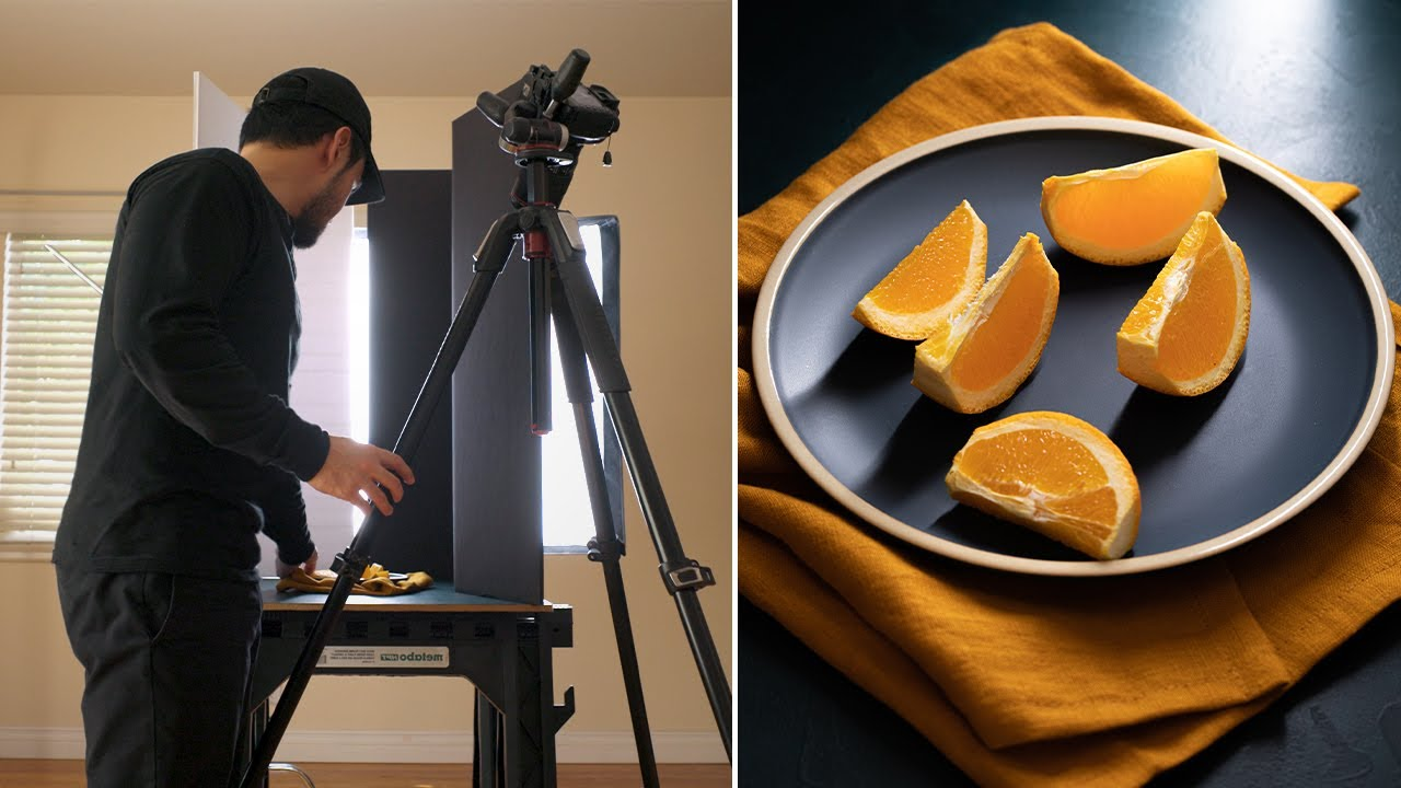 3 Practical Ways to Use a Continuous Light for Food Photography - YouTube