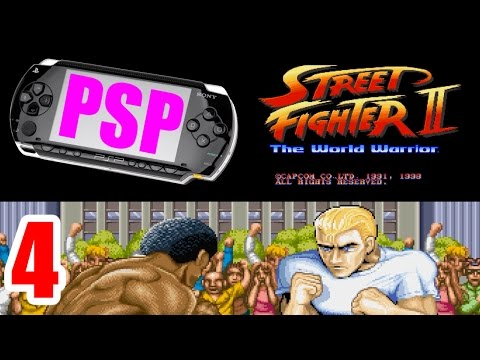 [4/4] Ryu Playthrough - STREET FIGHTER II(PlayStation Portable)