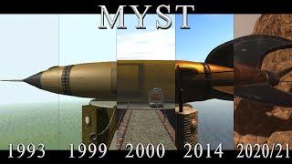 MYST 1993-2021 Сравнение: Original vs Remaster / Remakes