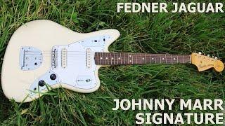 Обзор электрогитары Fender Jaguar Johnny Marr USA 2000   SKIFMUSIC.RU