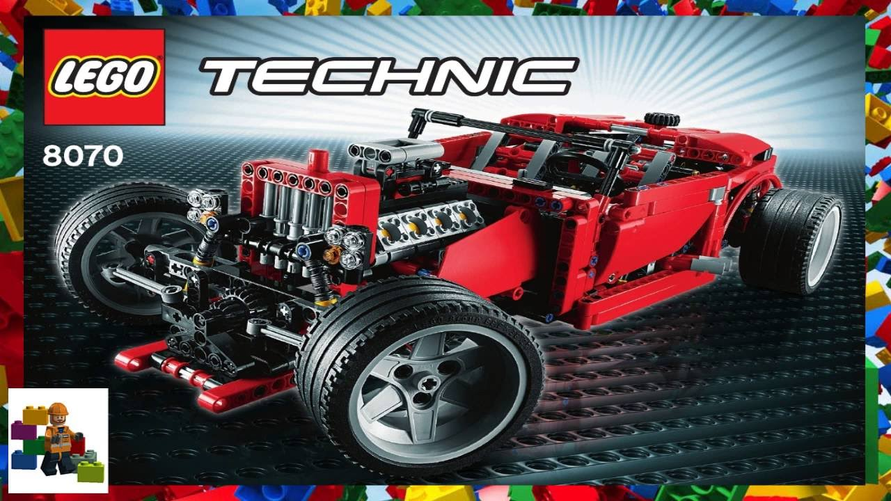 lego instructions technic 8070 roadster youtube. Black Bedroom Furniture Sets. Home Design Ideas