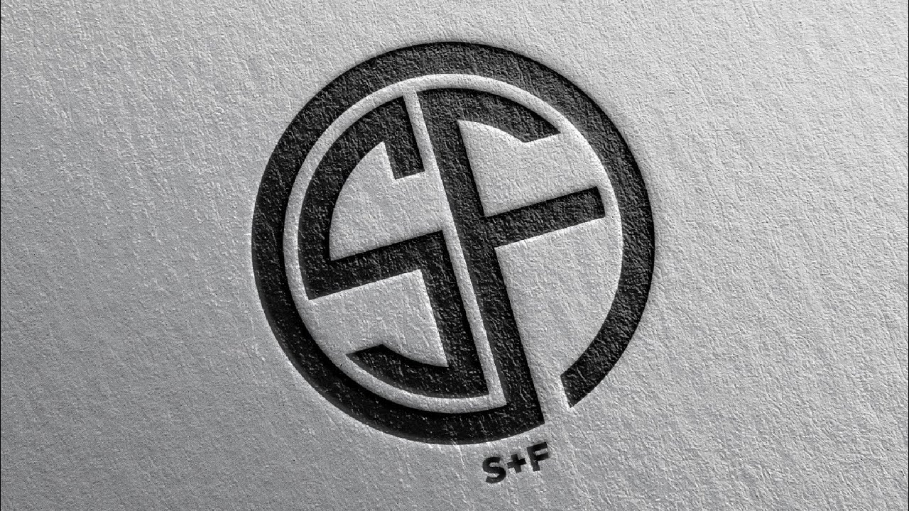 Monogram Logo Design (SF) #shorts #illustrator