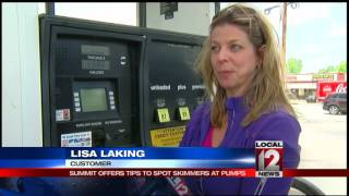 Skimmer Summit offers tips to spot skimmers at gas pumps