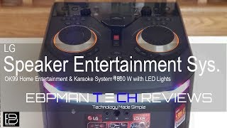In Depth Review | LG OK99 1800W, The Biggest Bluetooth Speaker