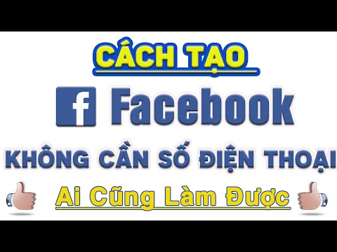 Tạo nick facebook, lập tài khoản facebook mới