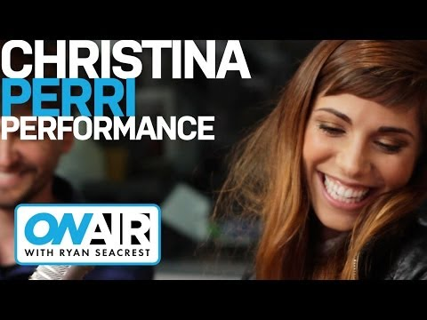 Christina Perri Be My Forever Acoustic  Performance  On Air with Ryan Seacrest