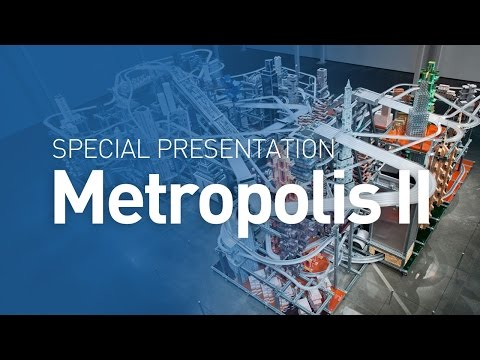 Metropolis II @ LACMA (by Chris Burden)