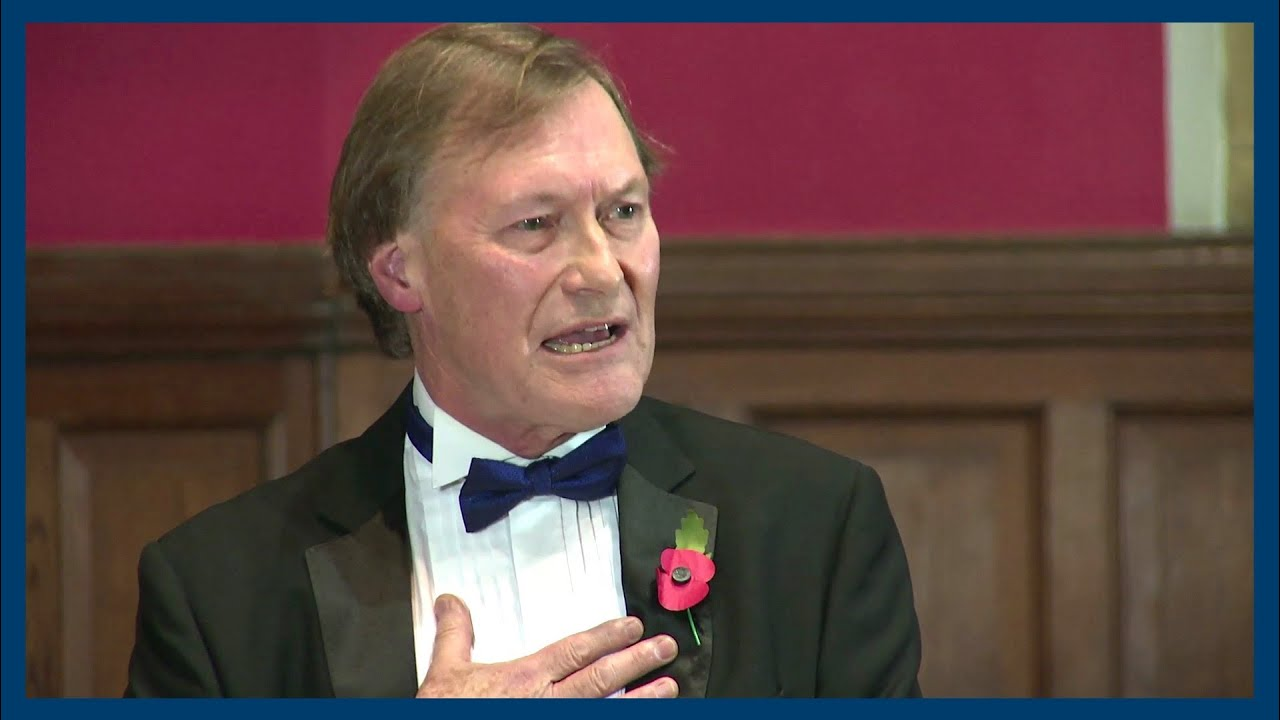 RELIGION HELPS SOCIETY - By the late David Amess MP