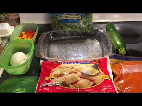 Fast Food Friday  || Baked Ravioli