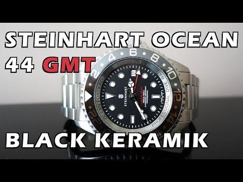 Steinhart Ocean 44 GMT Black Keramik Automatic Dive Watch Review - Perth WAtch #81