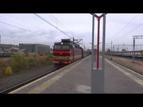 Отправление ЧС4т-676 с поездом №136Н Барнаул - Москва