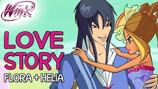 Winx Club – Flora and Helia's love story [from Season 2 to Season 7]
