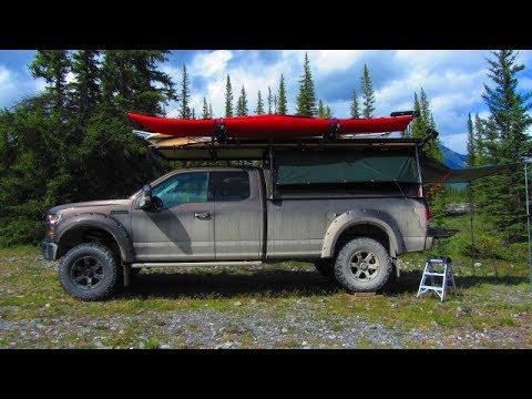 Toyota Tacoma Lifted >> Custom 8' Canopy Camper / Lifted 2016 F-150 - YouTube