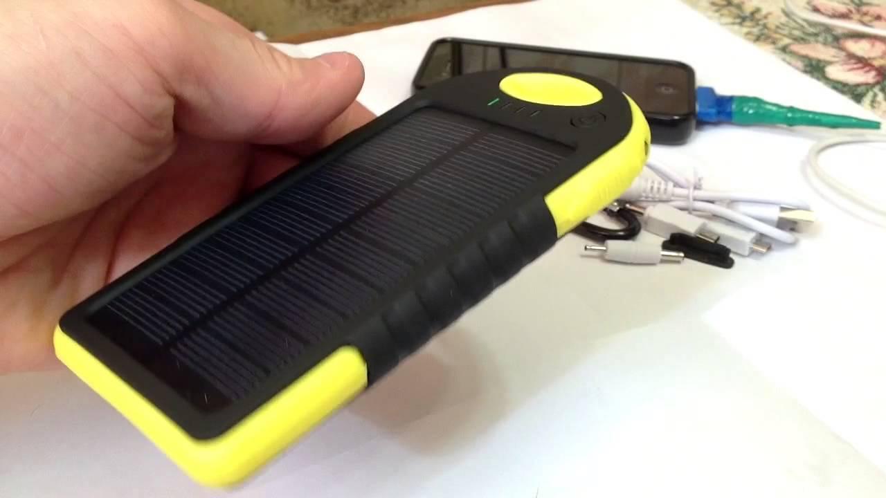 Зарядник для телефона на солнечной батарее