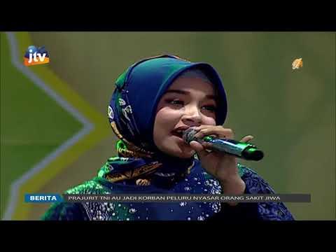 Tasya Rosmala Ya Maulana Pembukaan Kampung Ramadhan Sidoarjo