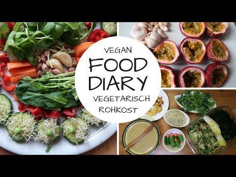 2 Tage FOOD DIARY mit meinen Kindern - VEGAN & VEGETARISCH
