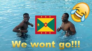 WE ALMOST GET PUT OUT GRENADA DAY4/Bajan Movie Critic - MaTeO Elliott