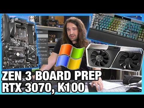 "HW News – ""X590"" False Alarm, Zen 3 Motherboard Support, NVIDIA RTX 3070"