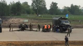 Танковий біатлон. Ремонт і постріл з 122-мм гаубице ''Жаба''. Команда ВДВ. р. Пенза.