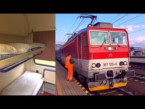 EuroNight Bohemia EN 443 Cheb - Praha - Humenné in Sleeping Car