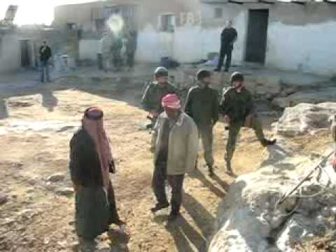 Home Demolitions in Um al-Kher- February 14, 2007