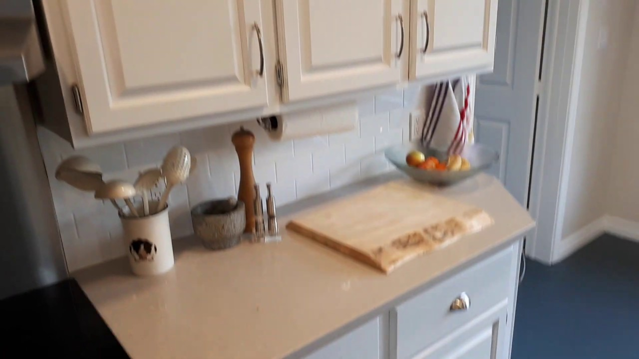 Kitchen Cabinet Refacing Refinishing Cabinet Door Replacement Cost Before And After Video Youtube