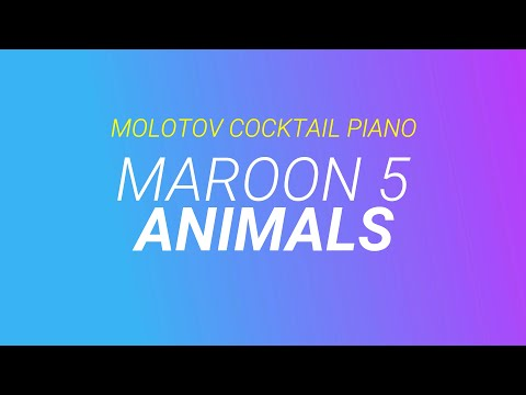 how to play animals on the piano by maroon 5