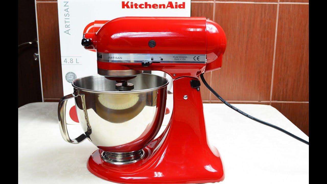 Kitchen Aid Artisan Prezentare Unboxing