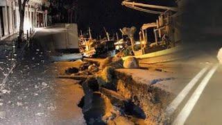 Earthquake on CCTV In Zante Zakynthos #zante #zakynthos #greece #earthquake