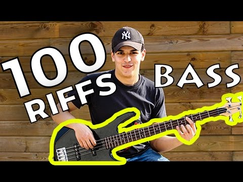 Download Youtube: 100 Riffs (A Brief History of Rock N' Roll) - Bass