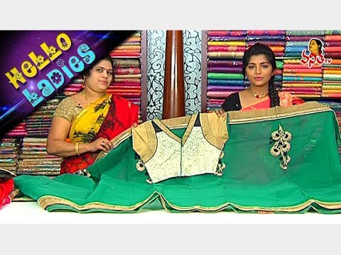 #Navaratri Special Pure Chiffon And Raw Silk Linen Sarees || Hello Ladies || Vanitha TV