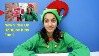 Funny Kids & Santa Claus Christmas Toy Present! New Video on our 2nd Channel