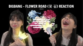 BIGBANG - FLOWER ROAD (꽃 길) REACTION | [IM NOT OKAY]