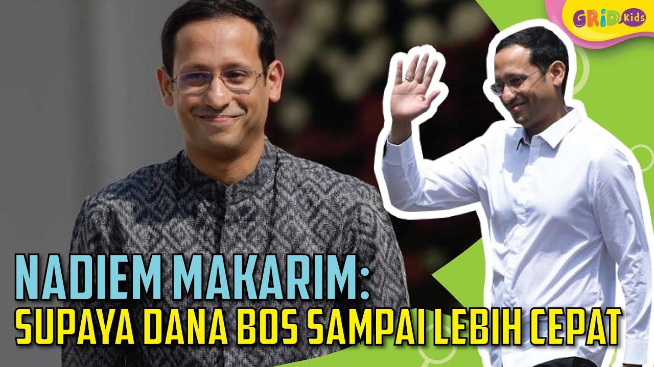 Nadiem Makarim - Mengubah Penyaluran Dana BOS - YouTube