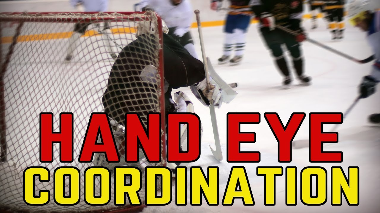 Off Ice Goalie Drill For Hand Eye Coordination And Quickness Youtube