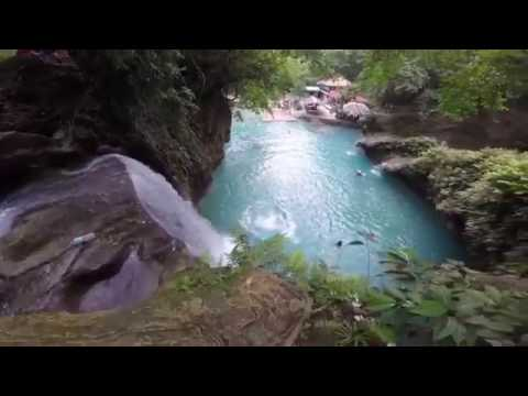 MOST SPECTACULAR THING YOU WILL EVER SEE - Kawasan Falls (Computer Only)