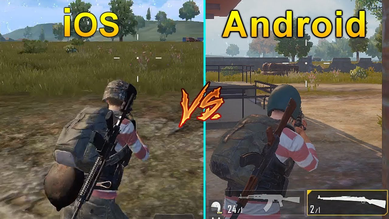 PUBG Mobile IOS Vs Android Graphics & Gameplay Comparison