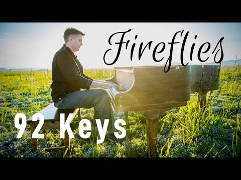 Owl City - Fireflies instrumental - Violin and Piano Cover by 92 Keys